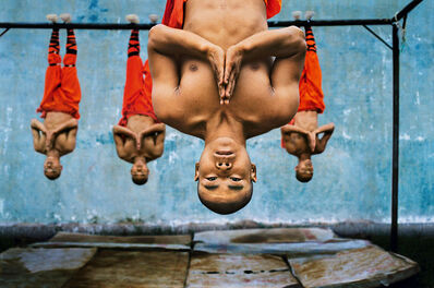 Steve McCurry, 'Shaolin Monks Training', 2004
