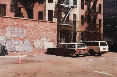 John Salt, 'SoHo Parking Lot', 2016