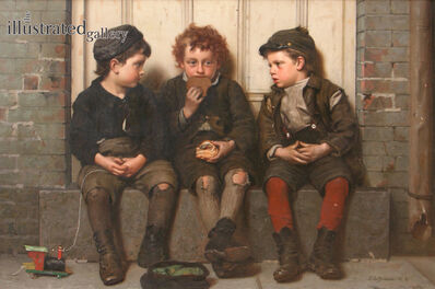 John George Brown, 'The Monopolist', 1885