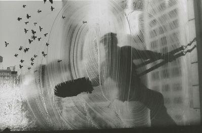 Harold Feinstein, 'Window Washer with Birds ', 1968