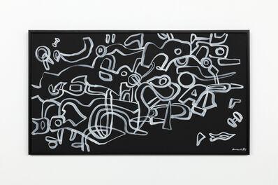 Carla Accardi, 'Bianco su nero', 1983