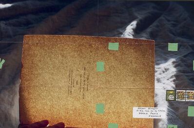Moyra Davey, 'Dédicace II', 2013