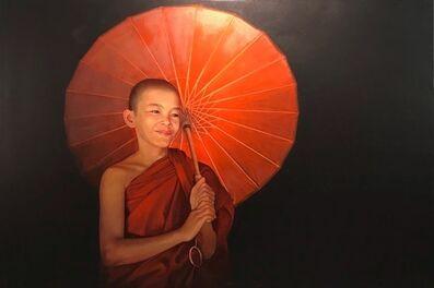 Pajonyut Puvijarn, 'Ambrella Monk ', 2018