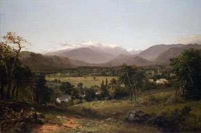 John Frederick Kensett, 'Mount Washington from the Valley of Conway', 1851