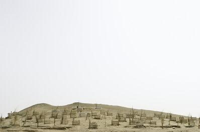 Lisa Ross, 'Unrevealed, Site 9 (Hilltop Markers)', 2009
