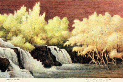 Roger Medearis, 'Canyon Falls', 1991