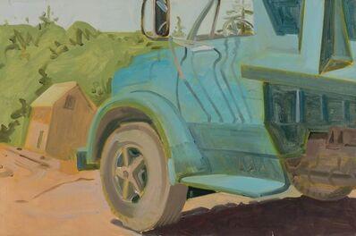 Lois Dodd, 'Arey's Truck', 1985