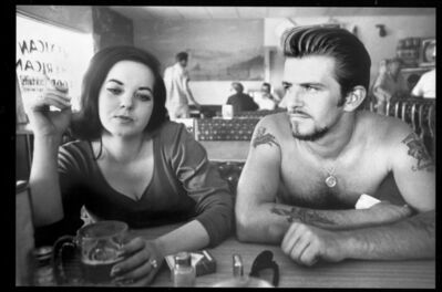 Dennis Hopper, 'Biker Couple', 1961