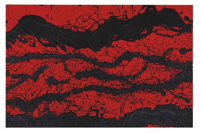 Fabienne Verdier, 'Black and Red Scape 2', 2019