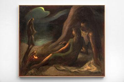 Lorser Feitelson, 'Beach Nocturne', 1943