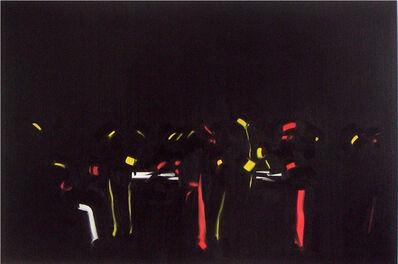 """Michael van Ofen, 'Dekor ind Signifikant politischer Macht in der überarbeiteten Endfassung des Wandbildes """"Der Kongreß zu Berlin"""", 1892 von Anton v. Werner', 2013"""
