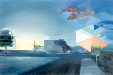 Phillip Griswold, 'Crossroads with Descending Hypercube', 2016