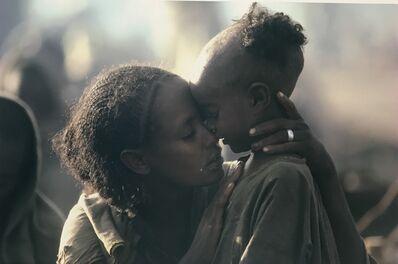 David Burnett, 'Ethiopian Famine, Mekele Camp, 1984.', 1984; printed 2020