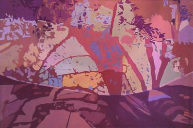 Ralph Wickiser, 'Beige Net', 1988