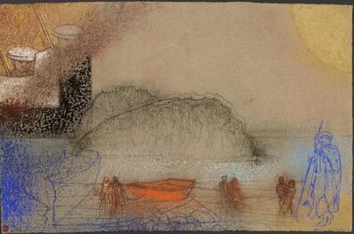 Irving Petlin, 'Landing, 2014', 2014
