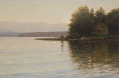 Jacob Collins, 'Yellow House at Thompson's Point at Twilight', 2012