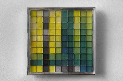 Rachel Lachowicz, 'Untitled (Color Computation: Go Go Green B78)', 2012