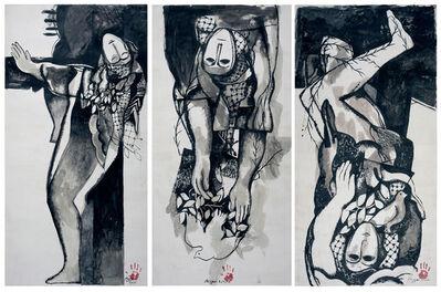 Dia Azzawi, 'Jenin Jenin', 2015