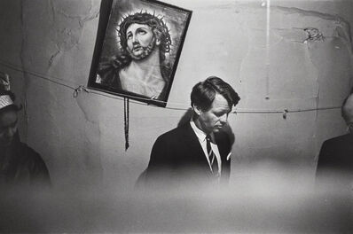 Fred W. McDarrah, 'Robert F. Kennedy in Suffolk Street Slum Railroad Flat', 1967