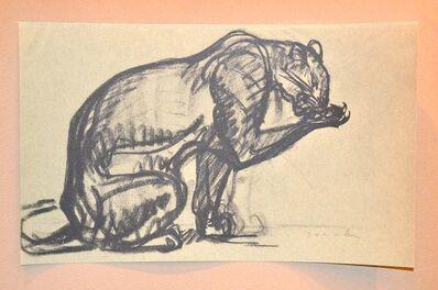 Théophile Alexandre Steinlen, 'Cheetah - From Chats et Autres Bêtes', 1933