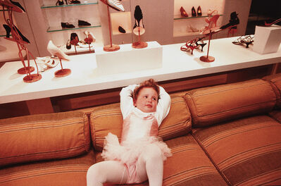Lauren Greenfield, 'Phoebe, 3, at the VIP opening of Barney's Department Store, Beverly Hills', 1994