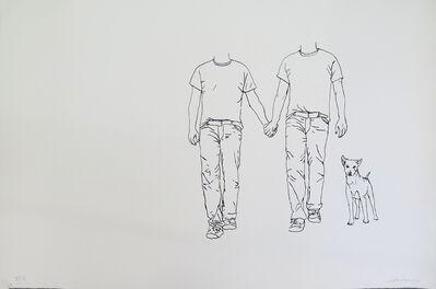 Gustavo Rezende, 'Santa Rita, San Juan y el perro peregrino', 2015
