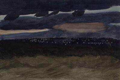 Charles Ephraim Burchfield, 'Night Scene', 1929