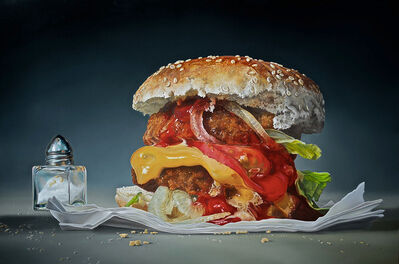 Tjalf Sparnaay, 'Big Burger (limited edition of 50)', 2015