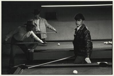 Danny Lyon, 'Navajo Pool Room, Gallup, New Mexico', 1973