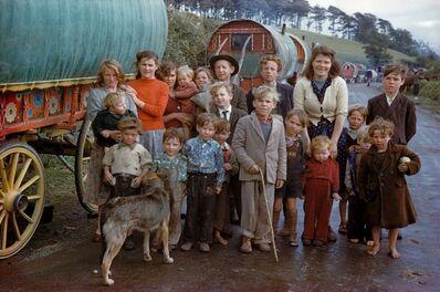 Inge Morath, 'Gypsy Family, Killorglin', 1954