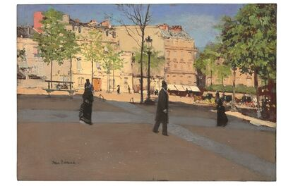 Jean Béraud, 'Place ensoleillée', ca. 1890