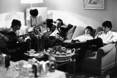 Harry Benson, 'Beatles and Brian Epstein, Paris ', 1964