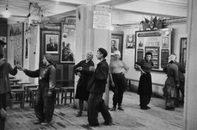 Henri Cartier-Bresson, 'Canteen for Workers Building the Hotel Metropol, Moscow', 1954