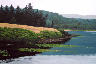 June Grey, 'Long Pond, Mt. Desert Island, Maine'