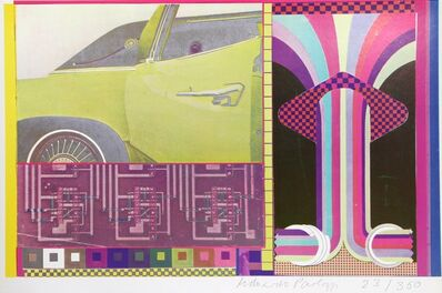 Eduardo Paolozzi, 'Totems and Taboos of the Nine to Five Day II from General Dynamic F.U.N. Portfolio', 1970