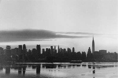 George Tice, 'Sunrise, New York', 1971