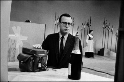 Erich Hartmann, 'Magnum photographers on TV. Burt Glinn. New York City, USA.', 1955