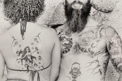 Burk Uzzle, 'Untitled (Tattooed Couple)'