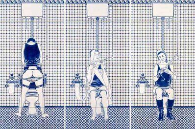 Dana Widawski, 'Artist's Rest IV-VI', 2014
