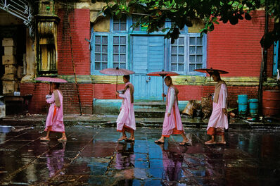 Steve McCurry, 'Procession of Nuns. Rangoon, Burma/Myanmar', 1994