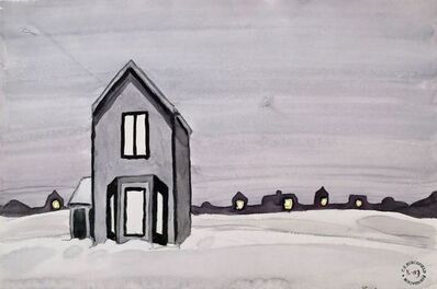 Charles Ephraim Burchfield, 'Gray House', ca. 1920