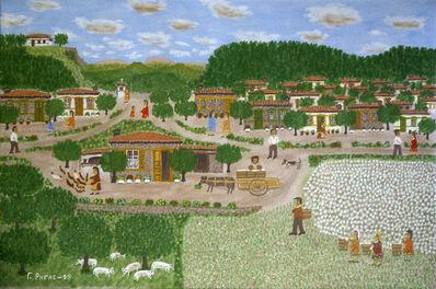 Giorgos Rigas, 'Cotton Harvest', 1989