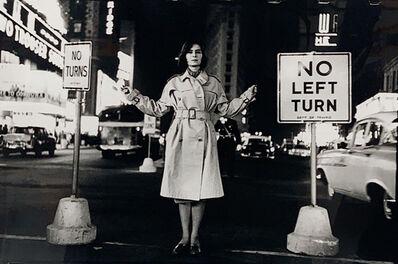 Henri Dauman, 'Juliette Mayniel in Times Square, NYC', 1959