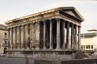 'Maison Carrée, Nîmes', ca. 20 B.C.
