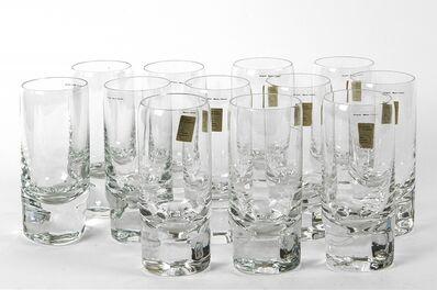 Marco Zanuso, '12 glasses for ARNOLFO DI CAMBIO 70s.'