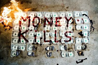 Tyler Shields, 'Money Kills', 2019