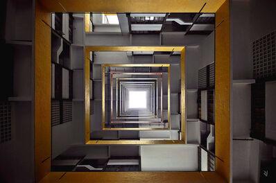 Romain Jacquet-Lagrèze, ''Vertical Horizon #16' Hong Kong', 2012