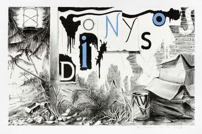 Tilo Baumgärtel, 'Dionysos', 2009