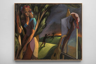 Lorser Feitelson, 'Post Surrealist Configuration: Daphne', 1943