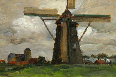 Tina Blau, 'Windmill at Veere', 1906